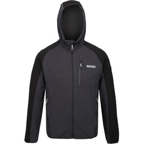 Regatta Woodford Fleece Jacket Men, black/black